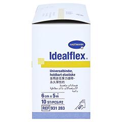 IDEALFLEX Binde 6 cm 10 Stück - Rechte Seite