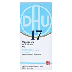 BIOCHEMIE DHU 17 Manganum sulfuricum D 6 Tabletten 420 Stück N3 - Vorderseite