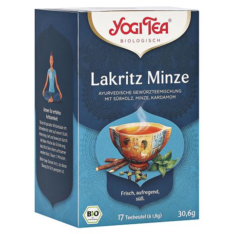 YOGI TEA Lakritz Minze Bio Filterbeutel 17x1.8 Gramm