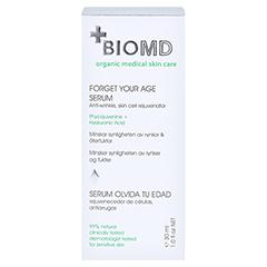 BIOMED Vergiss dein Alter Anti-Aging Serum 30 Milliliter - Rückseite