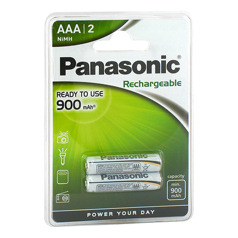 AKKU Batterien Micro AAA 900mAh P03PH 2 Stück