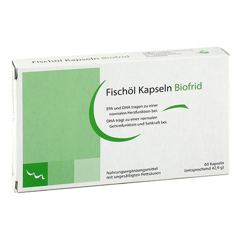 FISCHÖL KAPSELN Biofrid 60 Stück