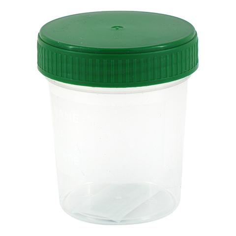 URINBECHER 120 ml gradu.beschr.m.Schraubdeckel 1 Stück