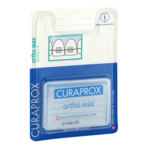 CURAPROX orthodontisches Wachs 7 Stück
