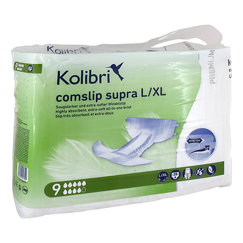 KOLIBRI comslip premium supra L/XL 120-170 cm 28 Stück