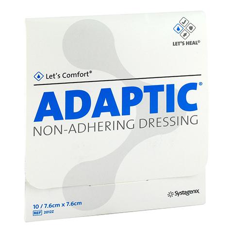 ADAPTIC 7,6x7,6 cm feuchte Wundauflage 2012Z 10 Stück