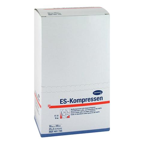 ES-KOMPRESSEN steril 10x20 cm 8fach 25x2 Stück