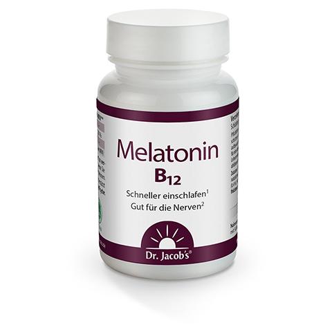 MELATONIN B12 Dr.Jacob's Tabletten 60 Stück