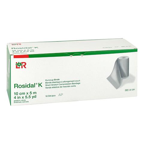 ROSIDAL K Binde 10 cmx5 m 10 Stück