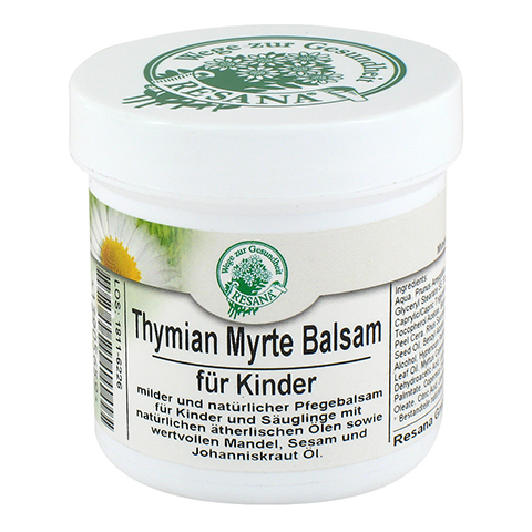 THYMIAN MYRTE Balsam für Kinder Resana 100 Milliliter