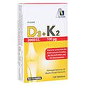 D3+K2 2000 I.E.+100 µg Tabletten 120 Stück