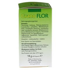 GRANOFLOR probiotisch Grandel Kapseln 60 Stück - Rechte Seite