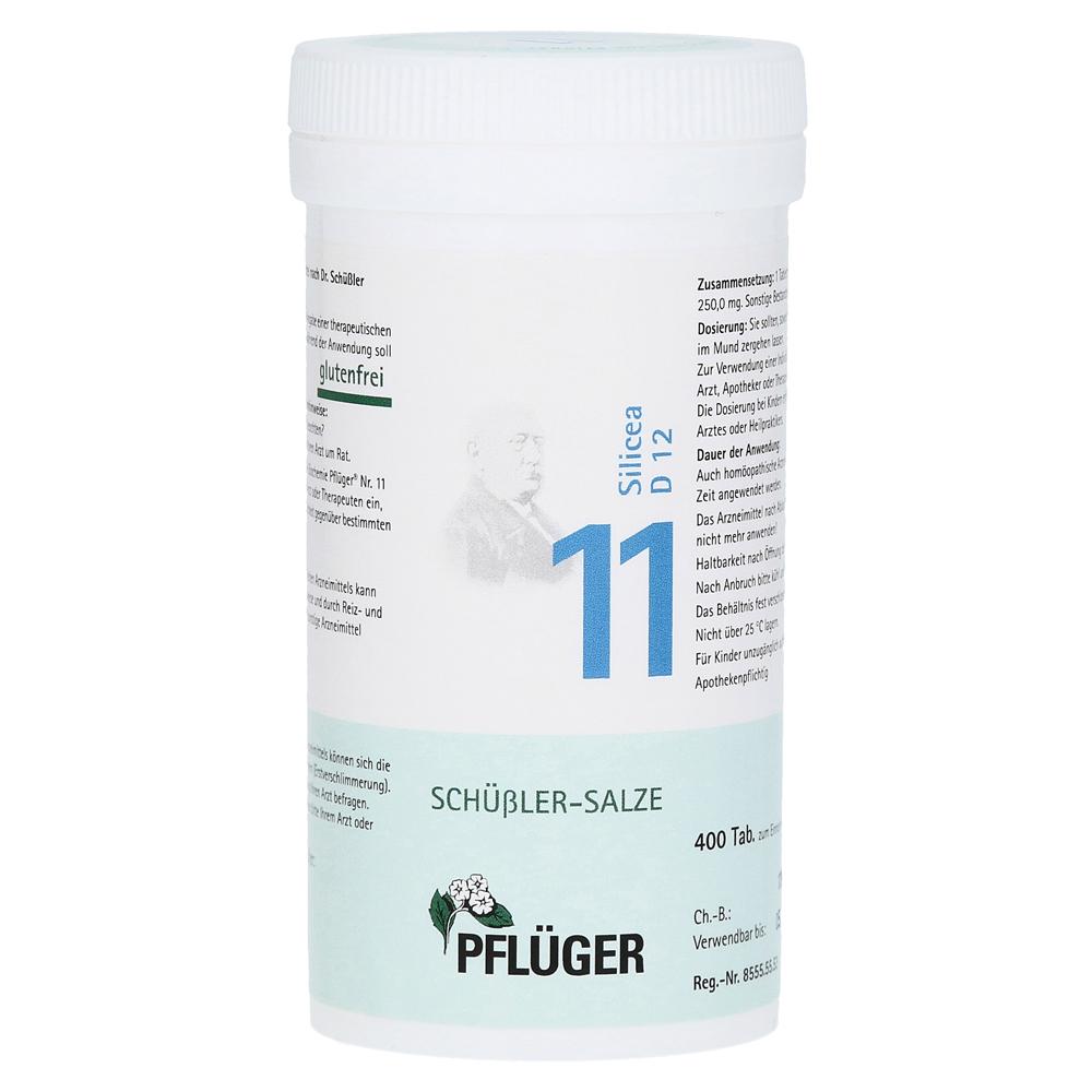 Erfahrungen Zu Biochemie Pflüger 11 Silicea D 12 Tabletten 400 Stück