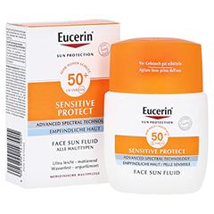 Eucerin Sun Fluid mattierend LSF 50+ 50 Milliliter