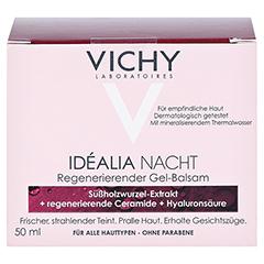 VICHY IDEALIA Skin Sleep Nachtcreme + gratis Vichy Mineral 89 Mini 50 Milliliter - Vorderseite