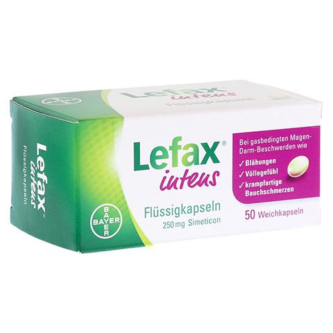 LEFAX intens Flüssigkapseln 250 mg Simeticon 50 Stück