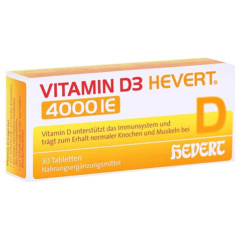 VITAMIN D3 Hevert 4.000 I.E. Tabletten 30 Stück