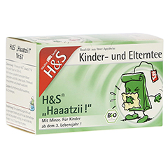 H&S Bio Haaatzii Kinder- und Elterntee Filterbeut. 20 Stück