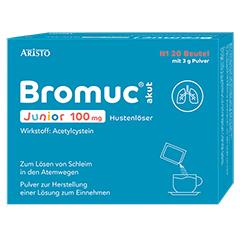 Bromuc akut Junior 100mg Hustenlöser 20 Stück N1