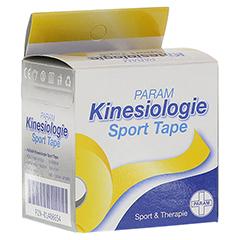 KINESIOLOGIE Sport Tape 5 cmx5 m gelb 1 Stück