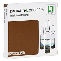 PROCAIN Loges 1% Injektionslösung Ampullen 5x2 Milliliter
