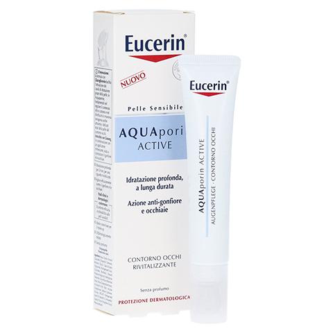 EUCERIN AQUAporin Active Augenpflege Creme 15 Milliliter