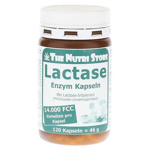 LACTASE 14.000 FCC Enzym Kapseln 120 Stück