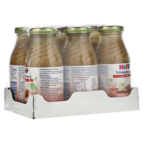 HIPP Trinknahrung Schoko hochkalorisch Flaschen 6x200 Milliliter
