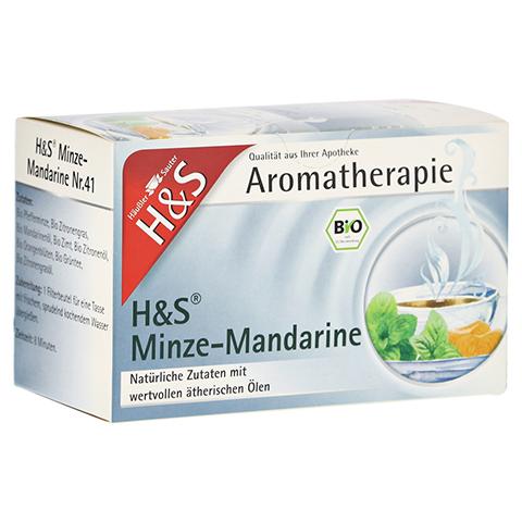 H&S Bio Minze-Mandarine Aromatherapie Filterbeutel 20 Stück