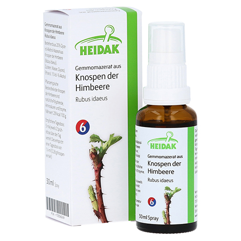 GEMMOMAZERAT Rubus idaeus Spray 30 Milliliter