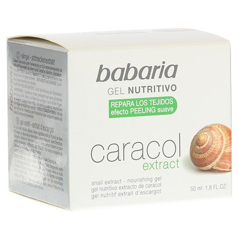 BABARIA Schneckenextrakt Feuchtigkeits Nährgel 50 Milliliter