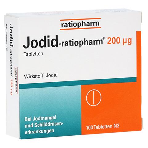 Jodid-ratiopharm 200µg 100 Stück N3