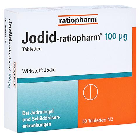 Jodid-ratiopharm 100µg 50 Stück N2