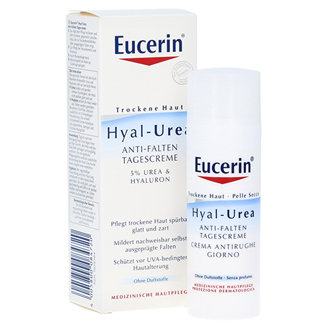 EUCERIN TH Hyal Urea Anti Falten Tagescreme 50 Milliliter