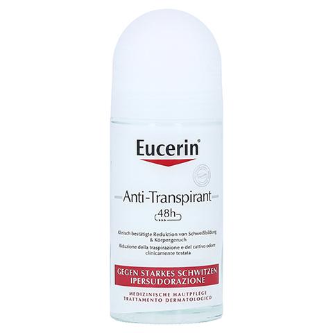 EUCERIN Deodorant Antitranspirant Roll-on 48h 50 Milliliter