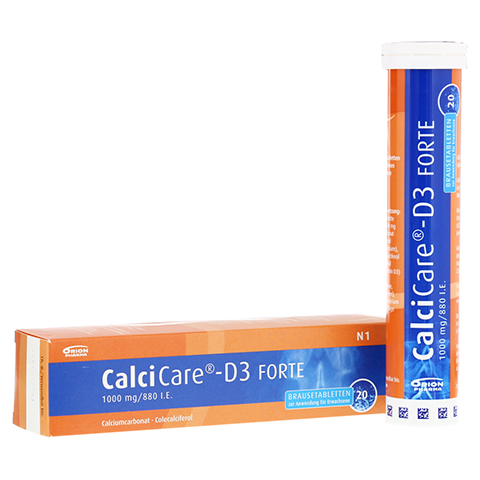 CalciCare-D3 FORTE 1000mg/880 I.E. 20 Stück N1