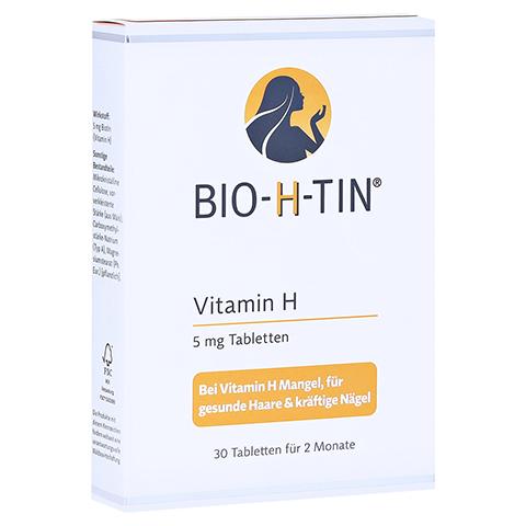BIO-H-TIN Vitamin H 5 mg für 2 Monate Tabletten 30 Stück