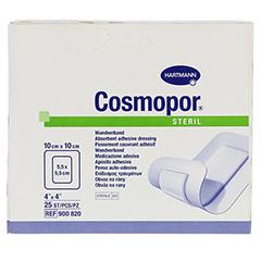 COSMOPOR steril 10x10 cm 25 Stück - Vorderseite