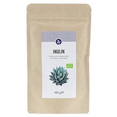 INULIN 100% Bio Pulver 180 Gramm - Vorderseite