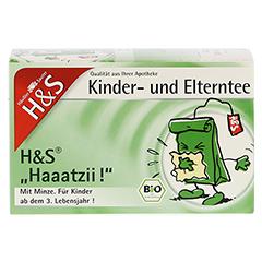 H&S Bio Haaatzii Kinder- und Elterntee Filterbeut. 20 Stück - Vorderseite