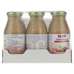 HIPP Trinknahrung Schoko hochkalorisch Flaschen 6x200 Milliliter - Vorderseite
