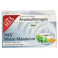 H&S Bio Minze-Mandarine Aromatherapie Filterbeutel 20 Stück - Vorderseite