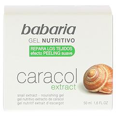 BABARIA Schneckenextrakt Feuchtigkeits Nährgel 50 Milliliter - Vorderseite