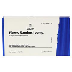 FLORES SAMBUCI comp.Ampullen 8x1 Milliliter N1 - Vorderseite