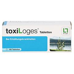 TOXI LOGES Tabletten 100 Stück - Vorderseite