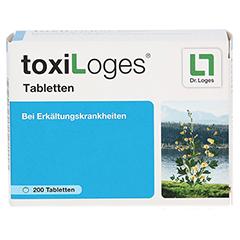 TOXI LOGES Tabletten 200 Stück - Vorderseite