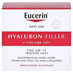 EUCERIN Anti-Age VOLUME-FILLER Tag trockene Haut + gratis Eucerin Hyaluron Anti-Age Set 50 Milliliter - Vorderseite