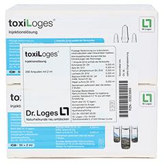 TOXI LOGES Injektionslösung Ampullen 200x2 Milliliter - Vorderseite