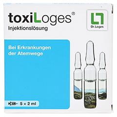 TOXI LOGES Injektionslösung Ampullen 5x2 Milliliter - Vorderseite