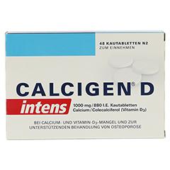 CALCIGEN D intens 1000mg/880I.E. 48 Stück N2 - Vorderseite